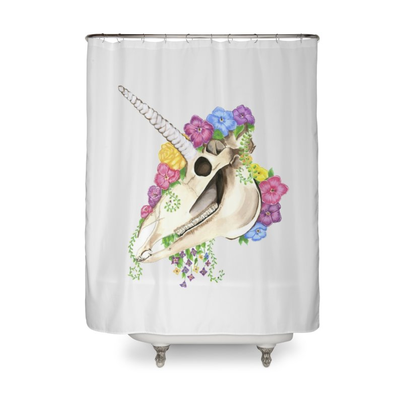 Uniskull Home Shower Curtain by Dura Mater