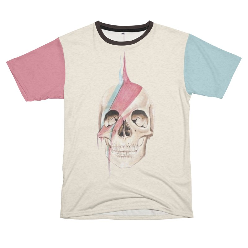 Starskull Men's French Terry T-Shirt Cut & Sew by Dura Mater