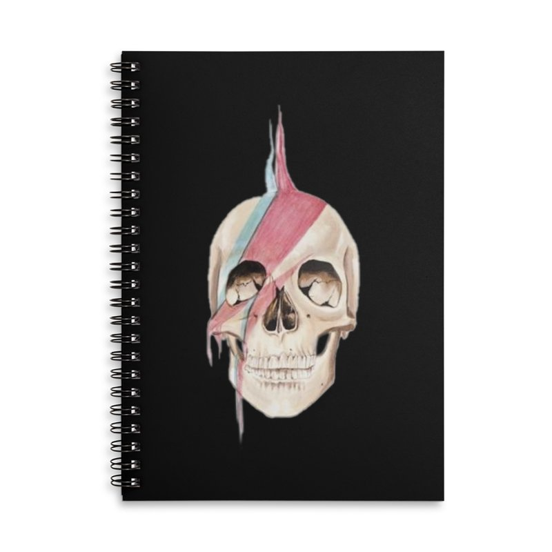Starskull Accessories Lined Spiral Notebook by Dura Mater