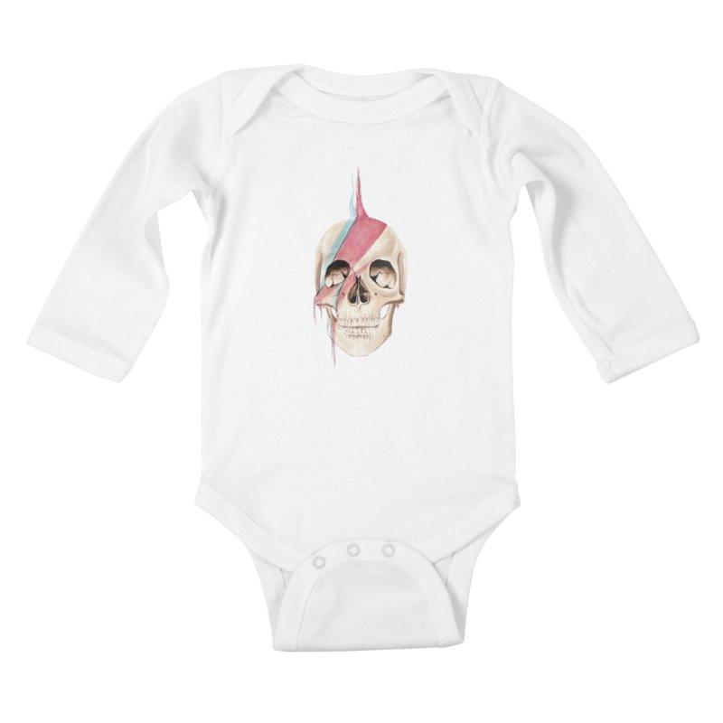Starskull Kids Baby Longsleeve Bodysuit by Dura Mater