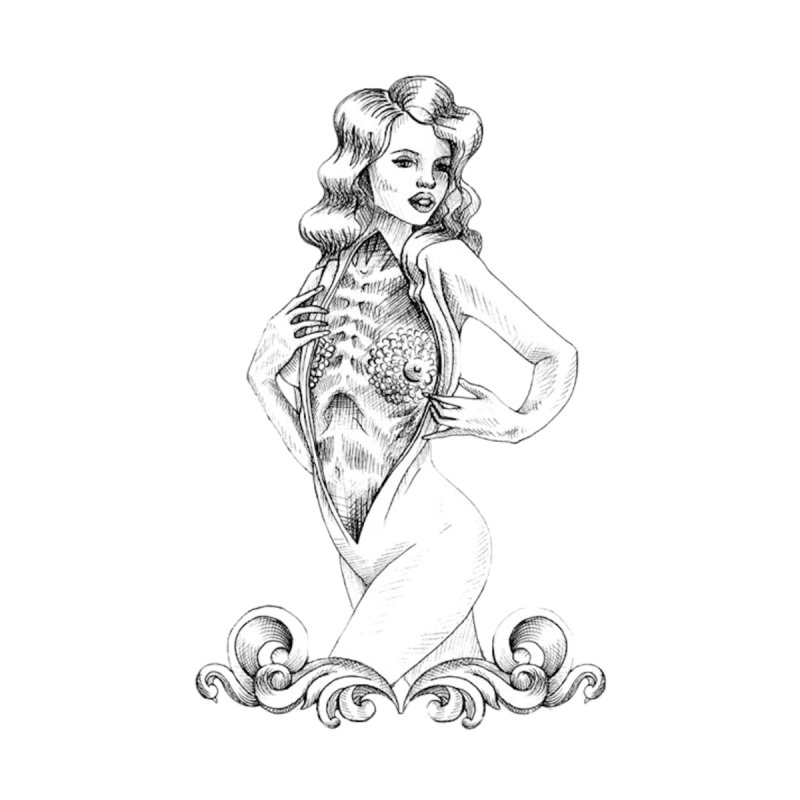 Anatomy Pinup Girl by Dura Mater