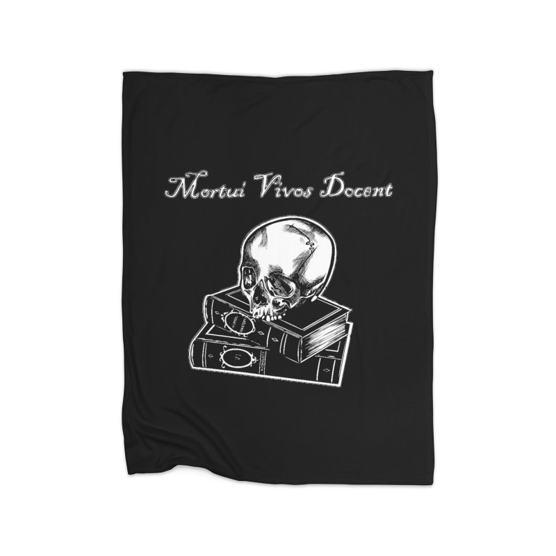 Mortui Vivos Docent Home Blanket by Dura Mater