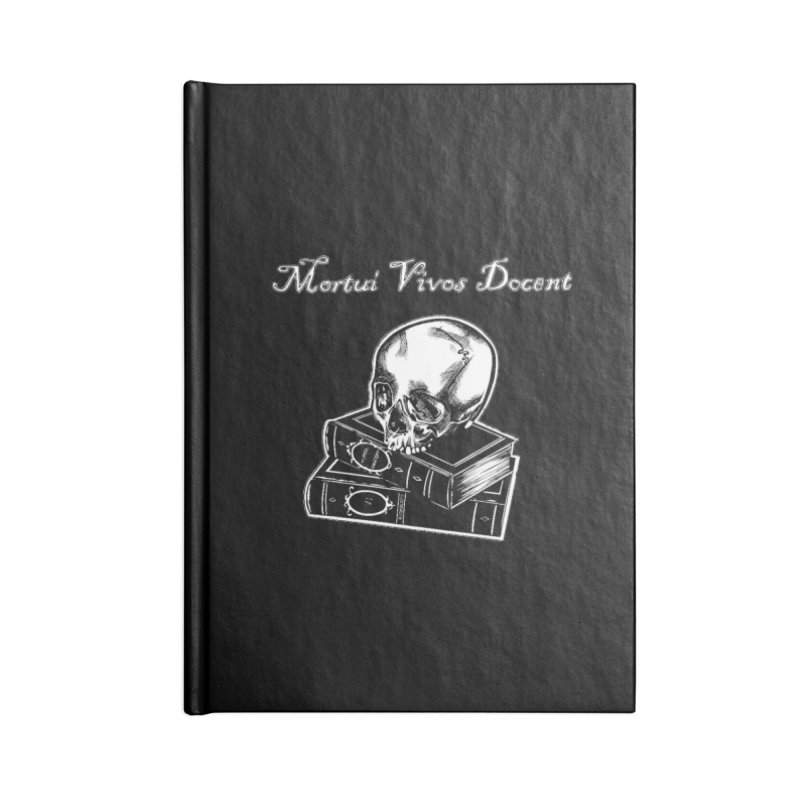 Mortui Vivos Docent Accessories Lined Journal Notebook by Dura Mater