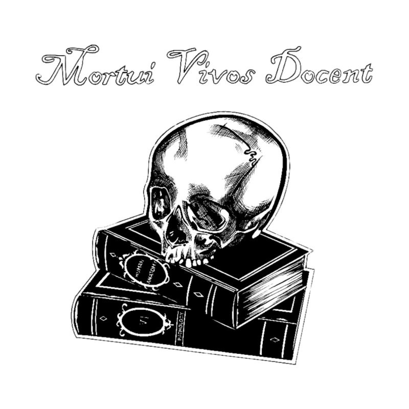 Mortui Vivos Docent Accessories Sticker by Dura Mater