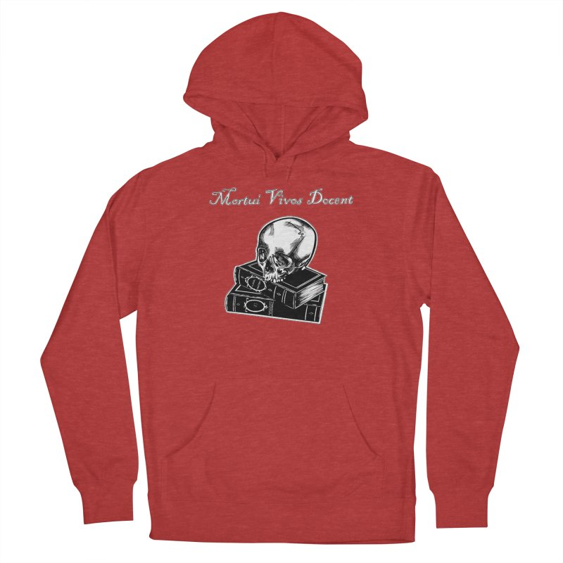 Mortui Vivos Docent Men's French Terry Pullover Hoody by Dura Mater