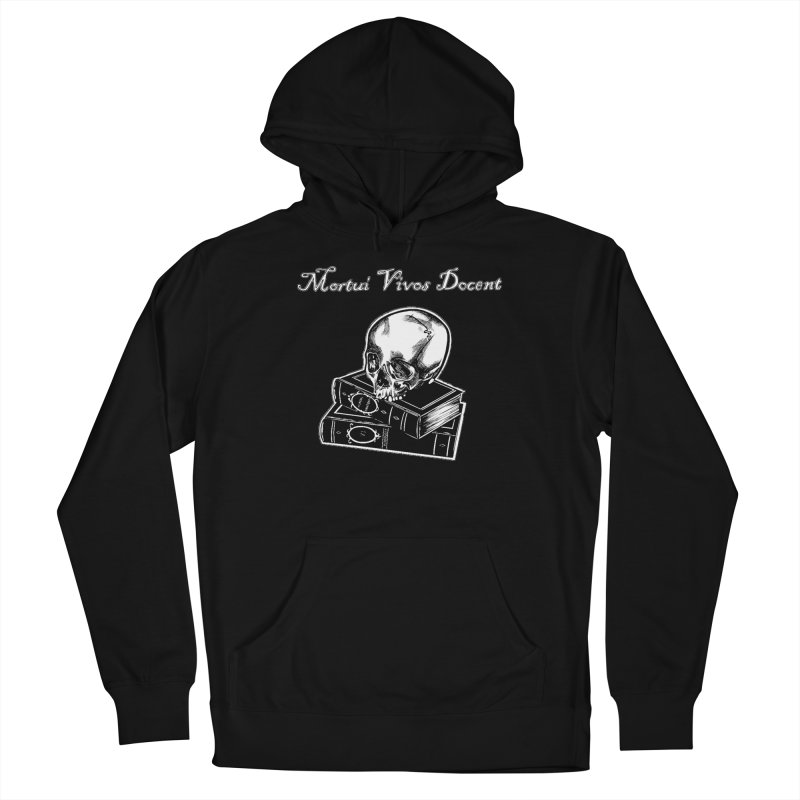 Mortui Vivos Docent Women's French Terry Pullover Hoody by Dura Mater