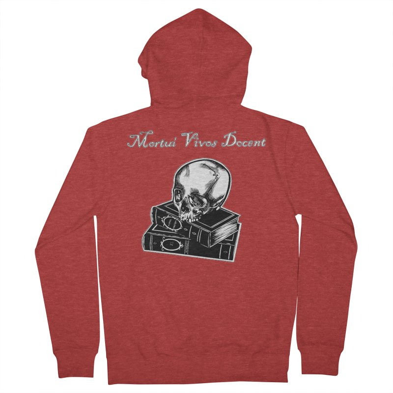 Mortui Vivos Docent Women's French Terry Zip-Up Hoody by Dura Mater