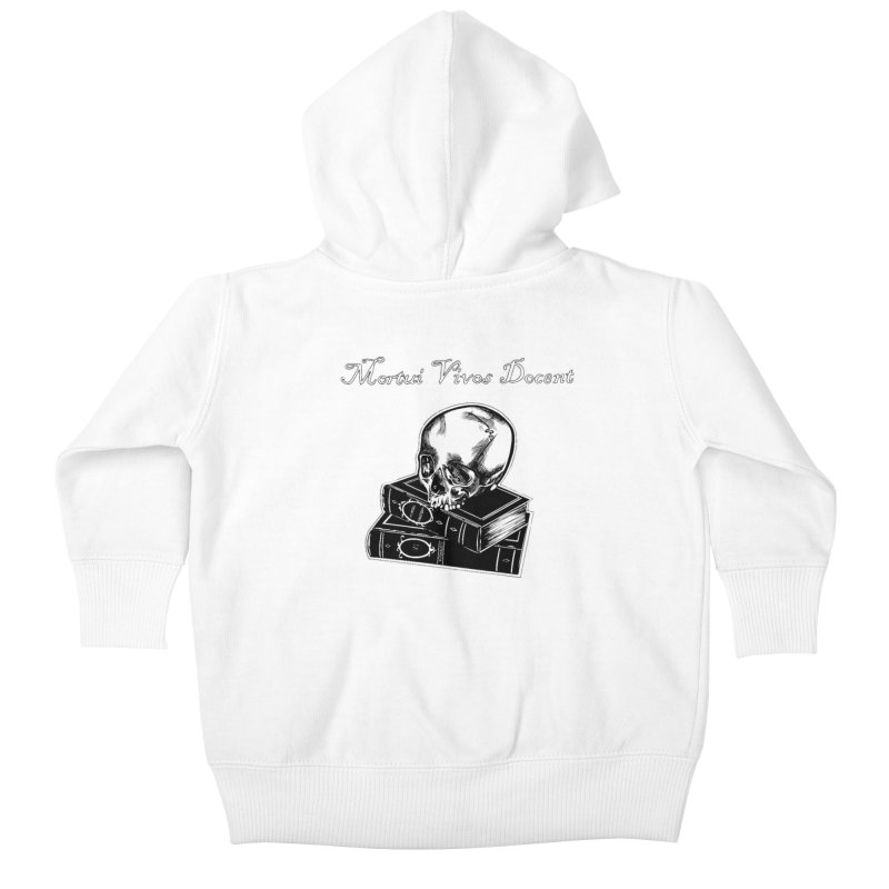 Mortui Vivos Docent Kids Baby Zip-Up Hoody by Dura Mater