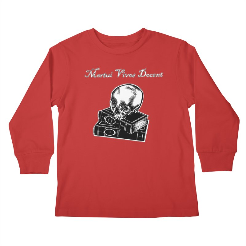 Mortui Vivos Docent Kids Longsleeve T-Shirt by Dura Mater