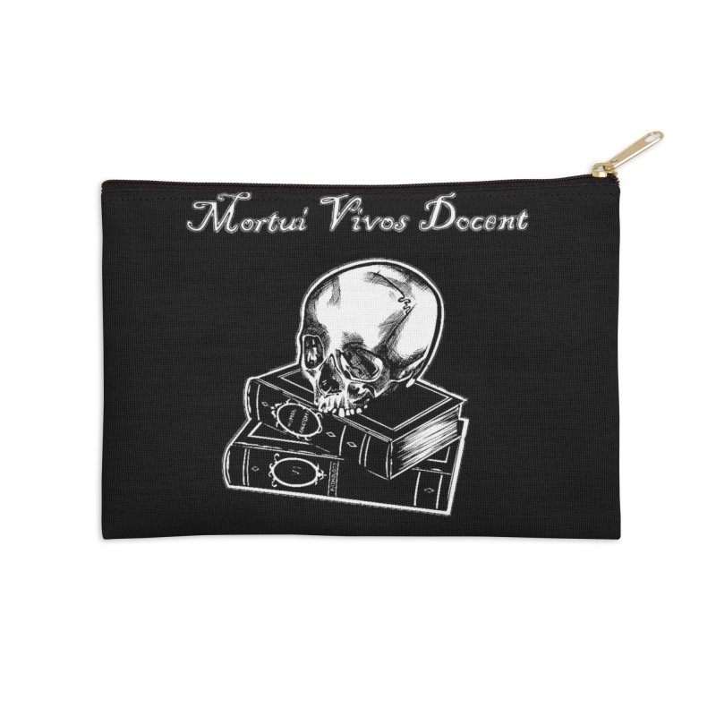 Mortui Vivos Docent Accessories Zip Pouch by Dura Mater