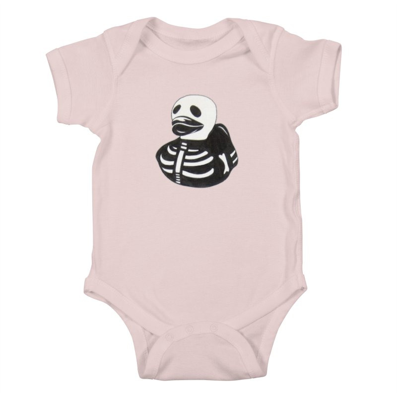Dead Duck Kids Baby Bodysuit by Dura Mater