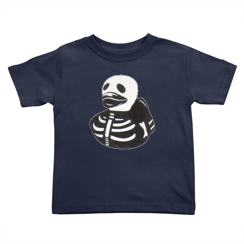 Dead Duck Kids Toddler T-Shirt by Dura Mater