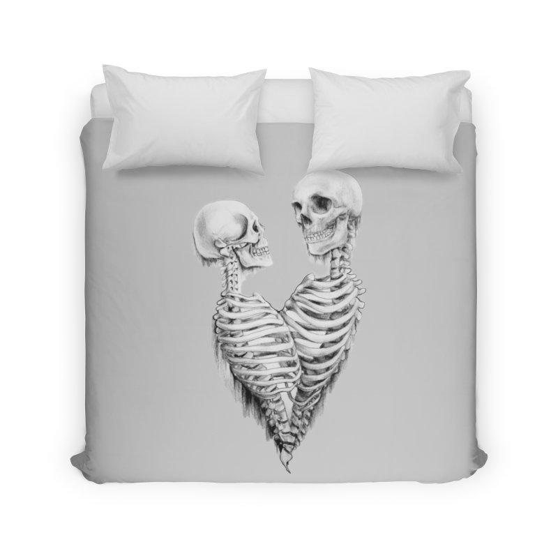 Skeleheart Home Duvet by Dura Mater