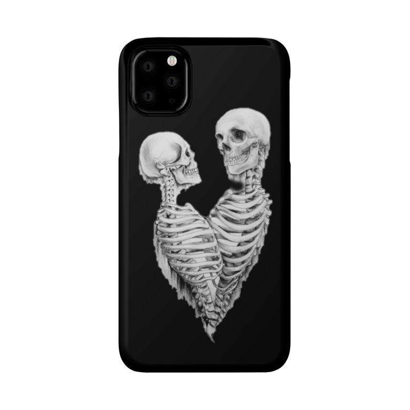 Skeleheart Accessories Phone Case by Dura Mater