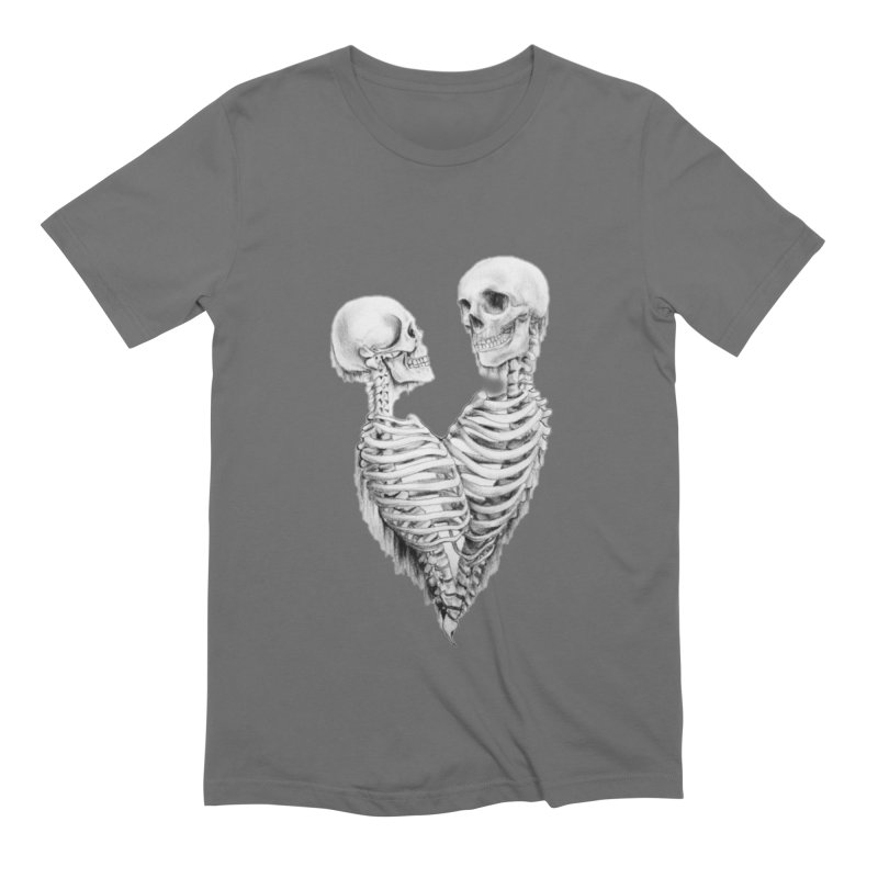 Skeleheart Men's Extra Soft T-Shirt by Dura Mater