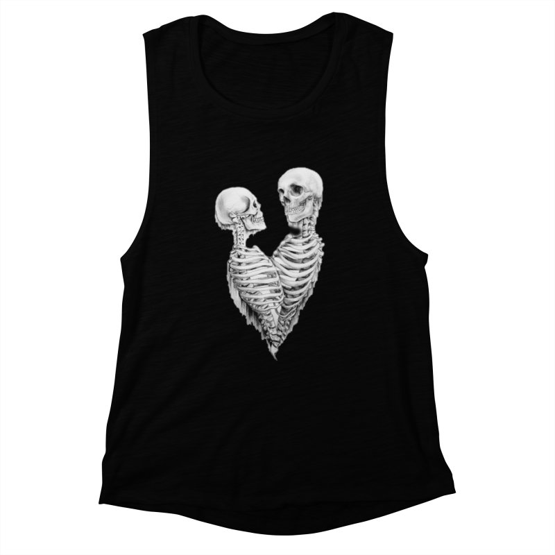 Skeleheart Women's Muscle Tank by Dura Mater