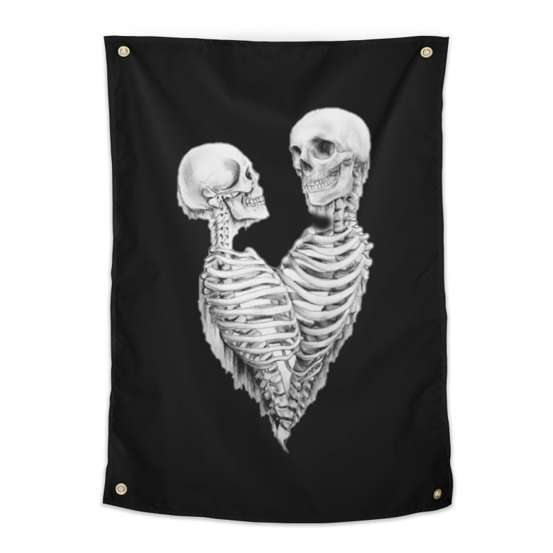 Skeleheart Home Tapestry by Dura Mater
