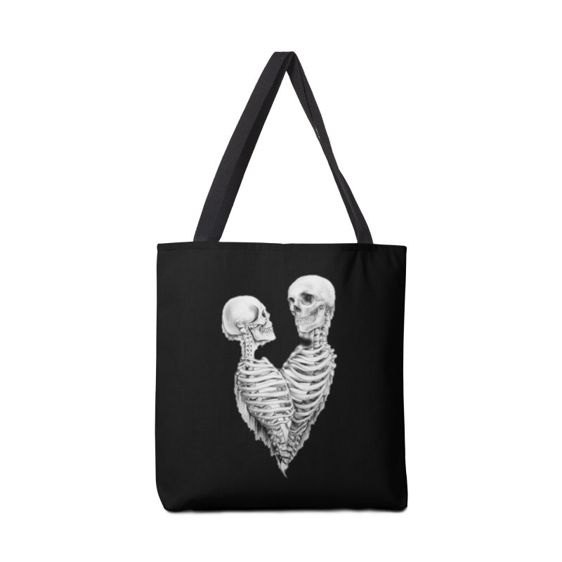 Skeleheart Accessories Tote Bag Bag by Dura Mater