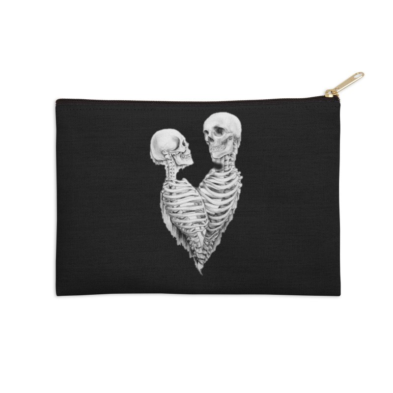 Skeleheart Accessories Zip Pouch by Dura Mater