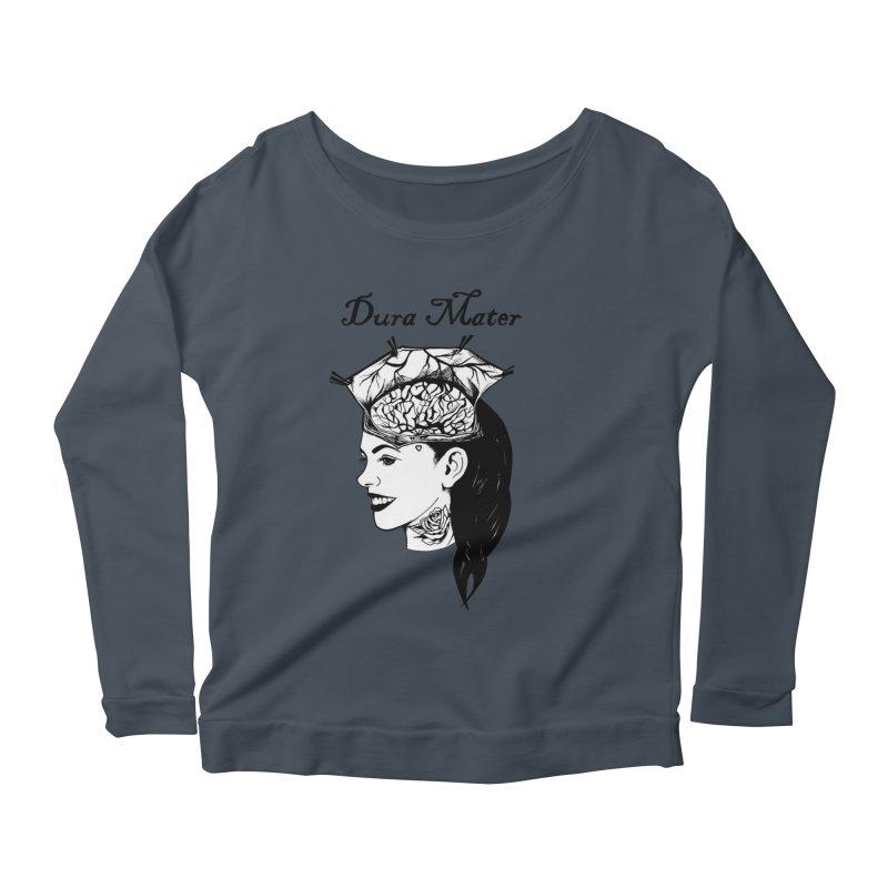 Dura Mater Women's Scoop Neck Longsleeve T-Shirt by Dura Mater