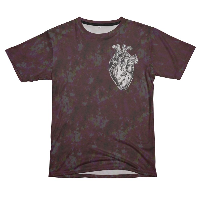 iheartautopsy Women's Unisex French Terry T-Shirt Cut & Sew by Dura Mater