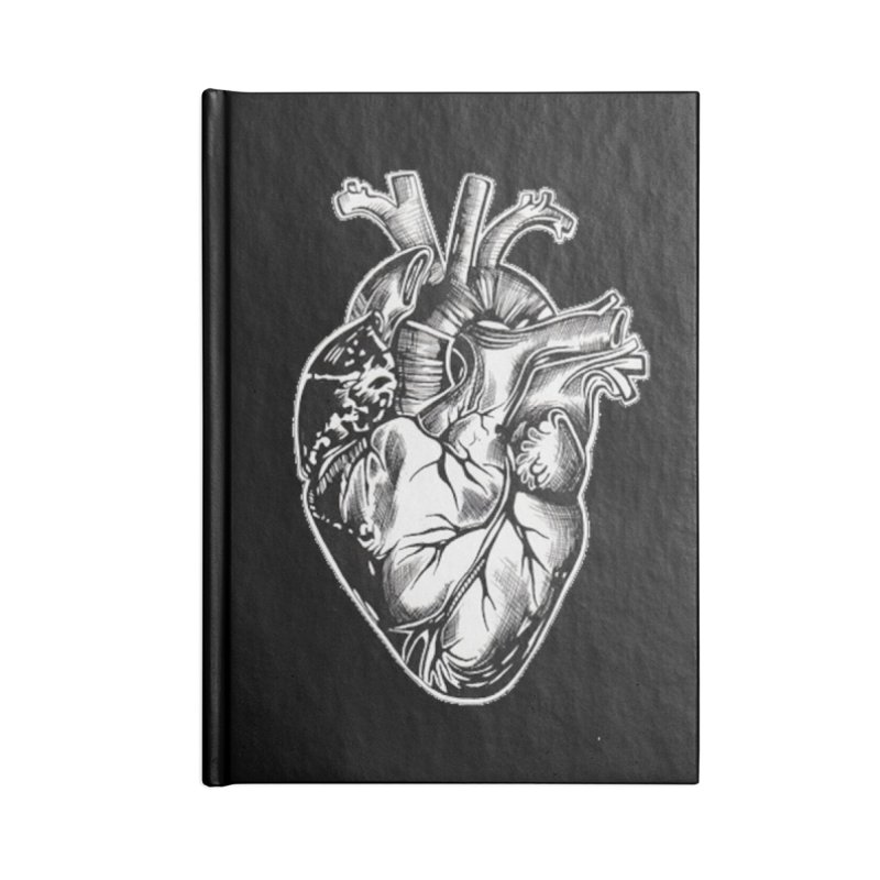 iheartautopsy Accessories Lined Journal Notebook by Dura Mater