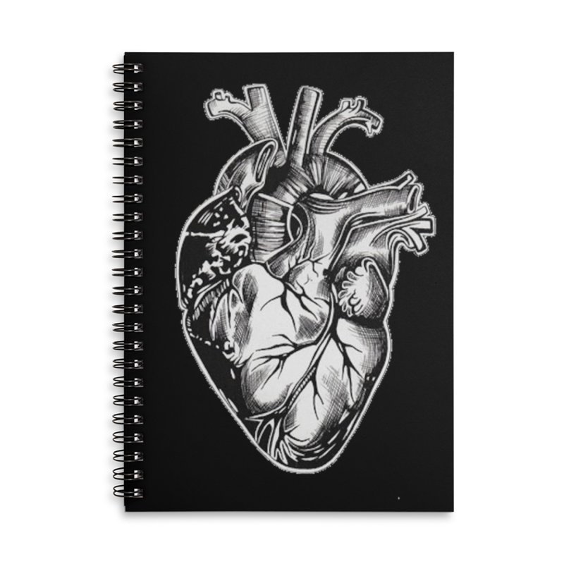 iheartautopsy Accessories Lined Spiral Notebook by Dura Mater