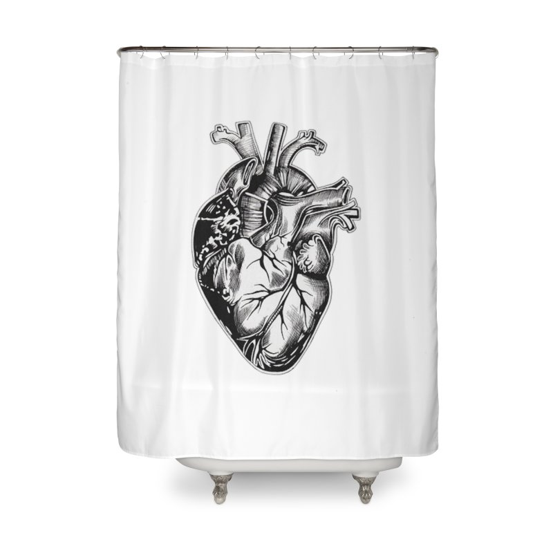 iheartautopsy Home Shower Curtain by Dura Mater
