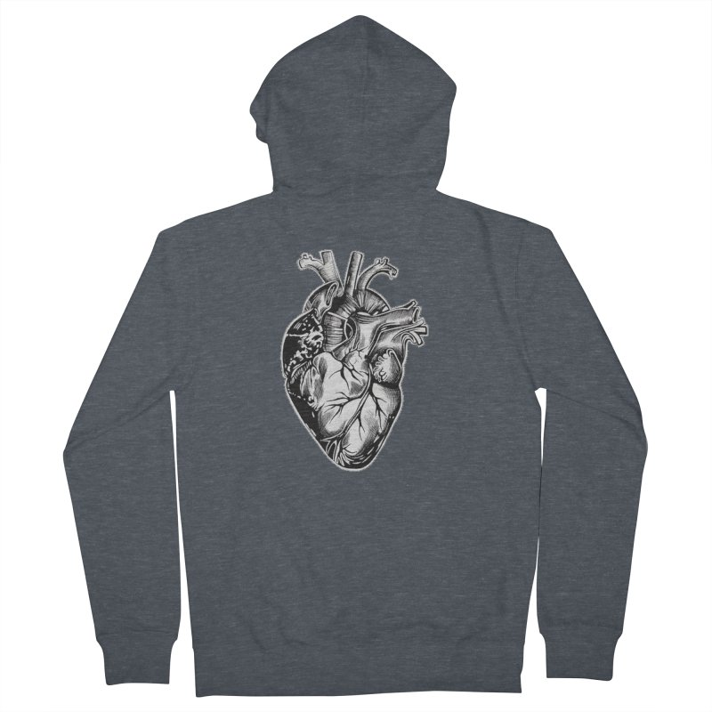 iheartautopsy Women's French Terry Zip-Up Hoody by Dura Mater