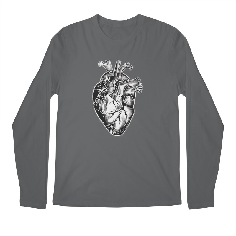 iheartautopsy Men's Regular Longsleeve T-Shirt by Dura Mater