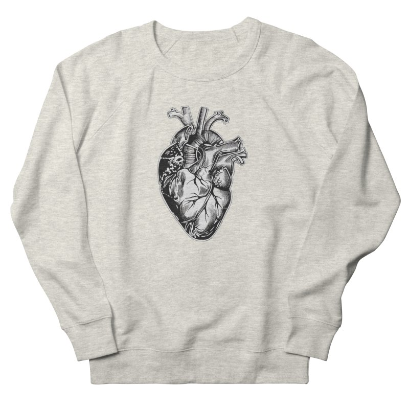 iheartautopsy Women's French Terry Sweatshirt by Dura Mater