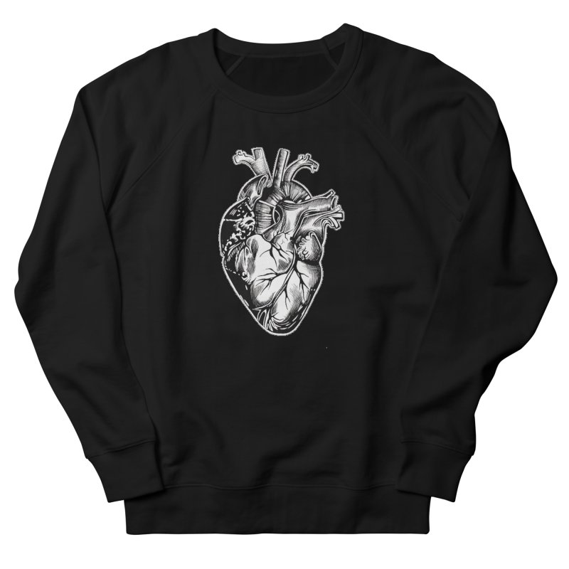 iheartautopsy Men's French Terry Sweatshirt by Dura Mater