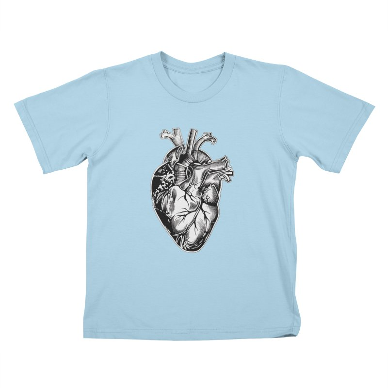 iheartautopsy Kids T-Shirt by Dura Mater
