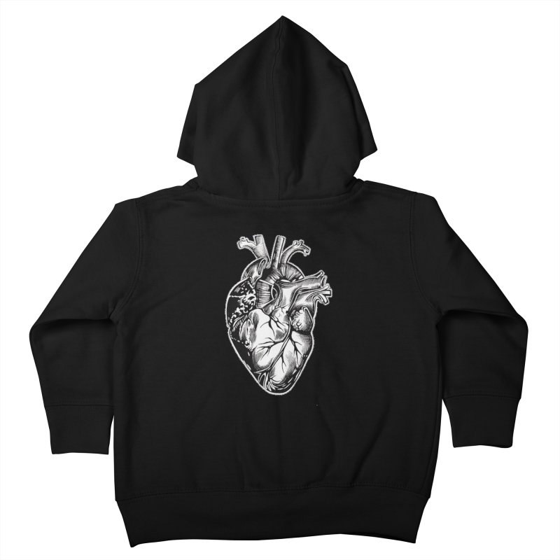 iheartautopsy Kids Toddler Zip-Up Hoody by Dura Mater