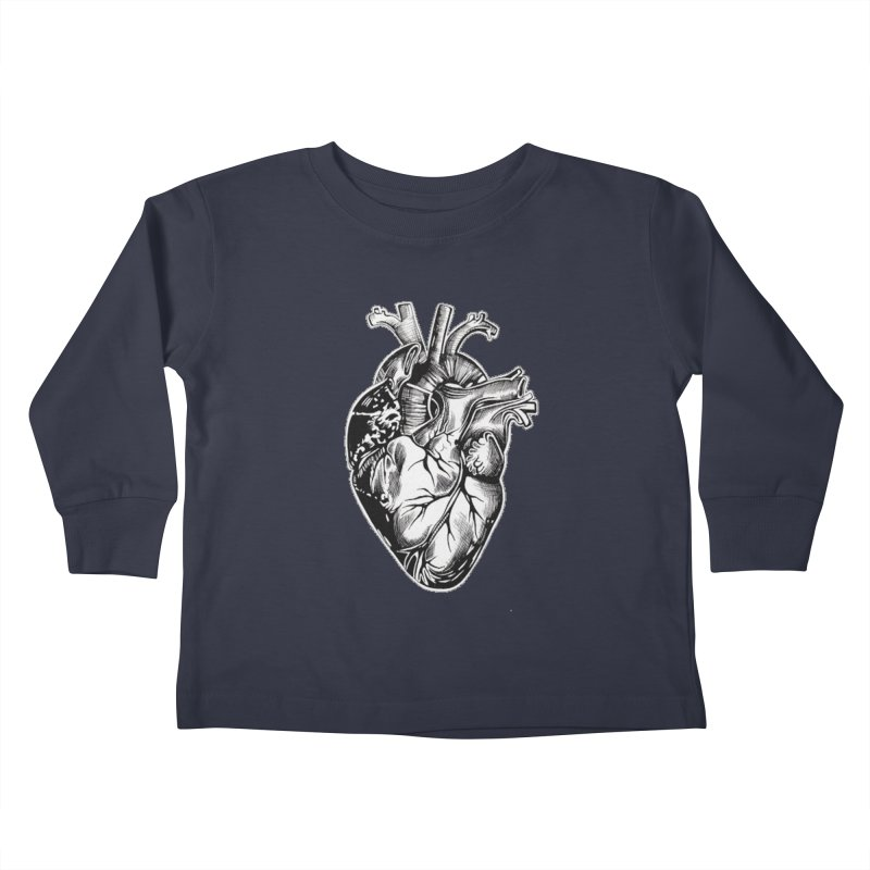 iheartautopsy Kids Toddler Longsleeve T-Shirt by Dura Mater