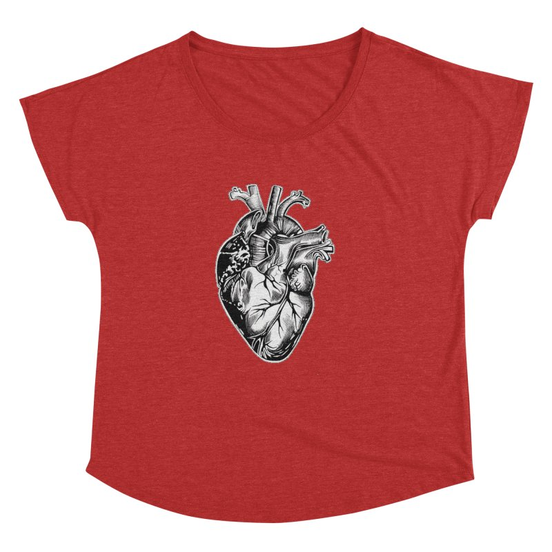 iheartautopsy Women's Dolman Scoop Neck by Dura Mater