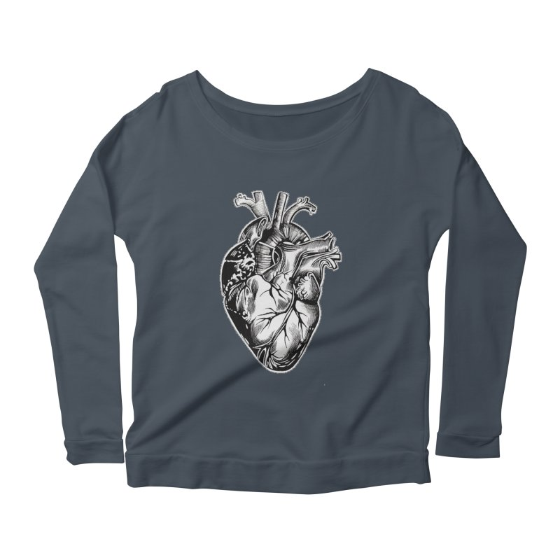 iheartautopsy Women's Scoop Neck Longsleeve T-Shirt by Dura Mater