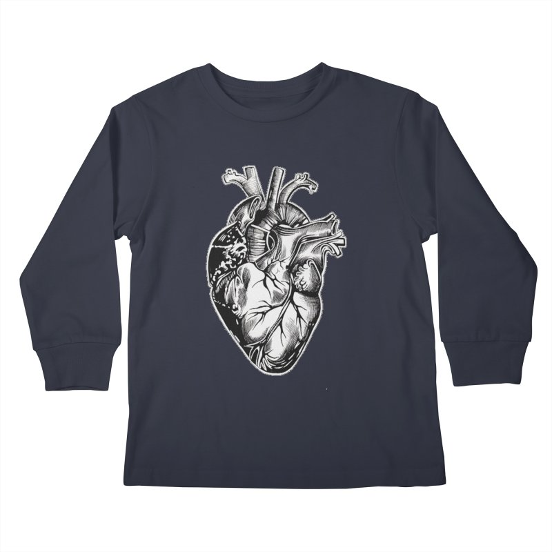 iheartautopsy Kids Longsleeve T-Shirt by Dura Mater