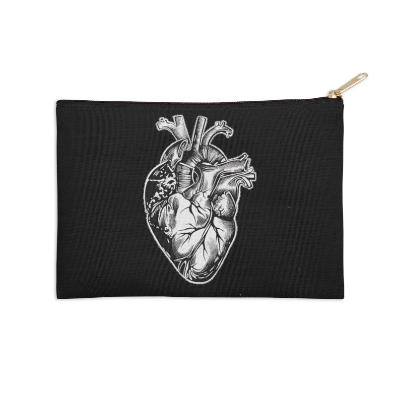 iheartautopsy Accessories Zip Pouch by Dura Mater