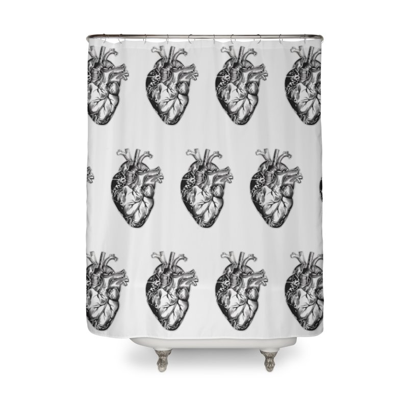 ihearthearts Home Shower Curtain by Dura Mater
