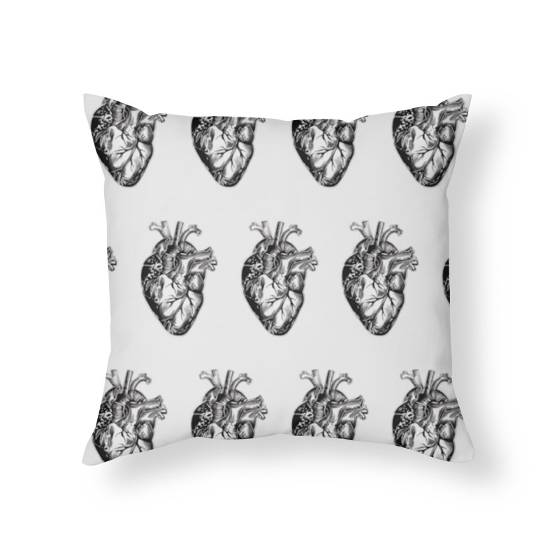 ihearthearts Home Throw Pillow by Dura Mater