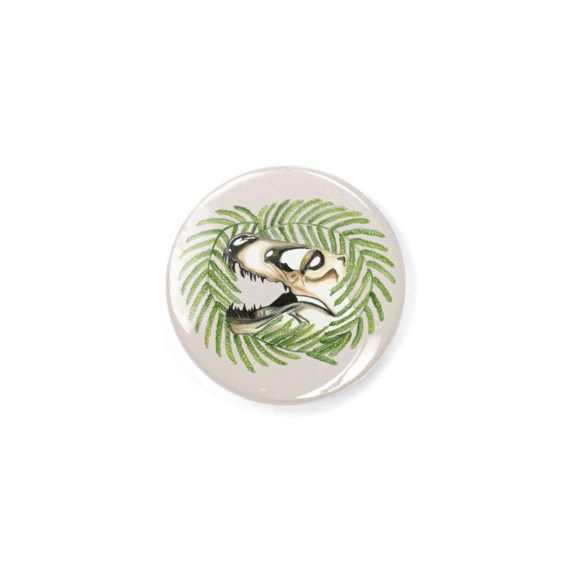 Dino Skull Accessories Button by Dura Mater
