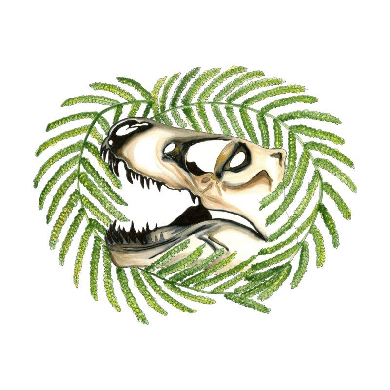 Dino Skull Kids Baby Zip-Up Hoody by Dura Mater