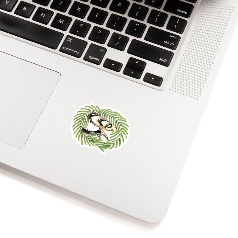 Dino Skull Accessories Sticker by Dura Mater