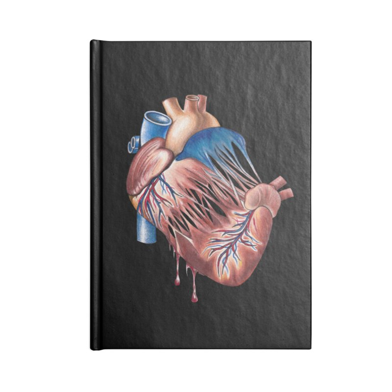 Love Will Tear Us Apart Accessories Blank Journal Notebook by Dura Mater