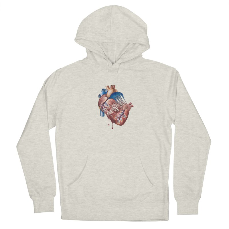 Love Will Tear Us Apart Men's French Terry Pullover Hoody by Dura Mater