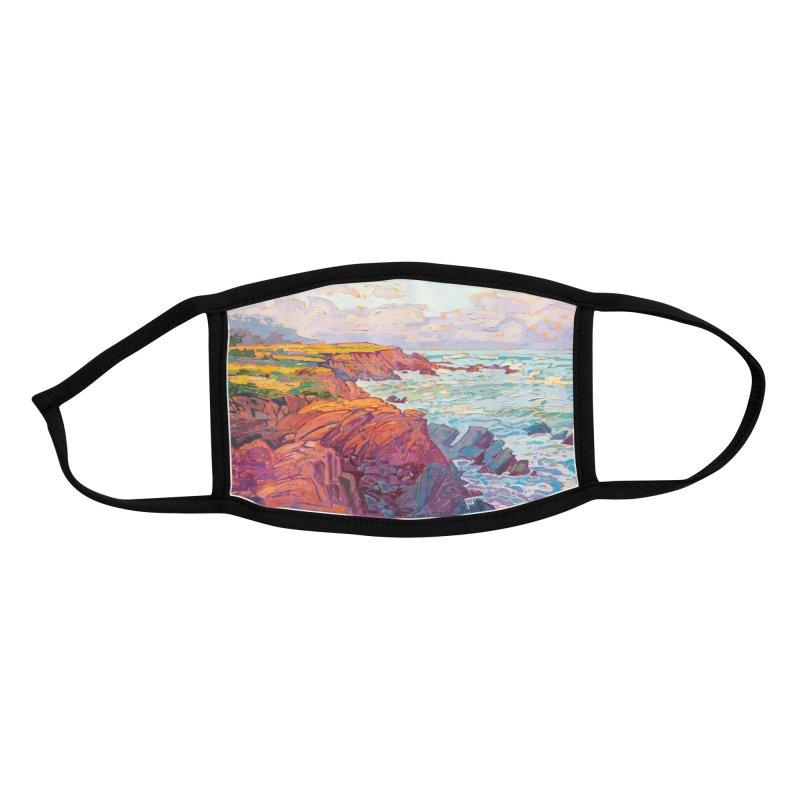 """Pebble Beach Light"" Face Mask by Erin Hanson Accessories Face Mask by The Erin Hanson Gallery's Artist Shop"