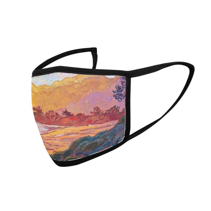 """Saffron Coast"" Face Mask by Erin Hanson Accessories Face Mask by The Erin Hanson Gallery's Artist Shop"