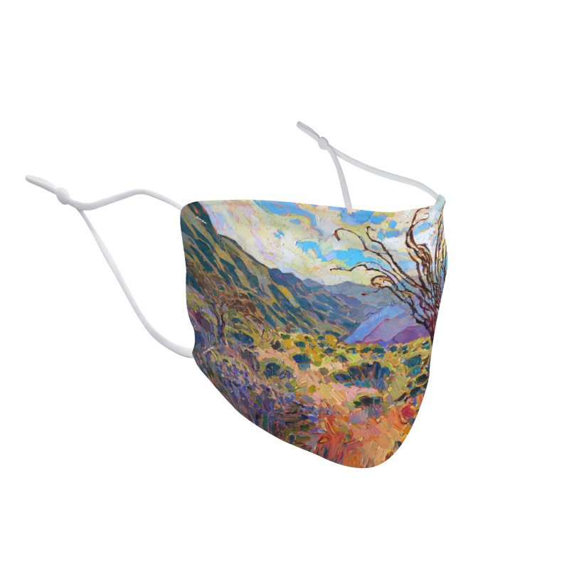 """Borrego in Bloom"" Face Mask by Erin Hanson Accessories Face Mask by The Erin Hanson Gallery's Artist Shop"