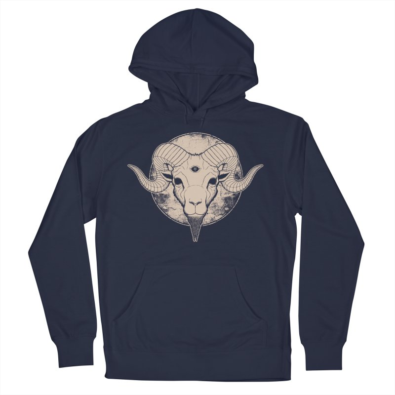 Three Eyed Goat Women's Pullover Hoody by The Evil Goods Shop